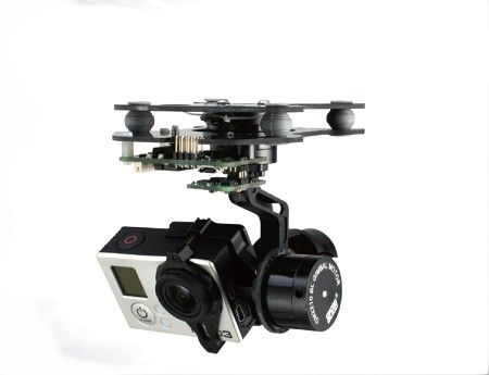 3 Axis Smart Gopro Brushless Gimbal Camera Mount Motor & Gimbal