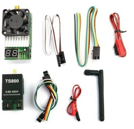 FPV 5.8G 32 Channel LED Display 1500mW AAT Compatible A/V Tx ... Aat With Fpv Wiring Diagram on