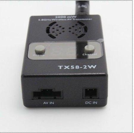 Transmitter 32CH 2000mW 5.8GHzTX58 Wireless AV Transmitter