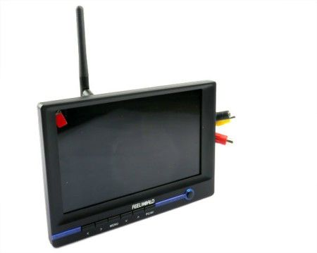 FPV Monitor 7 inch Integrated 5.8G Receiver