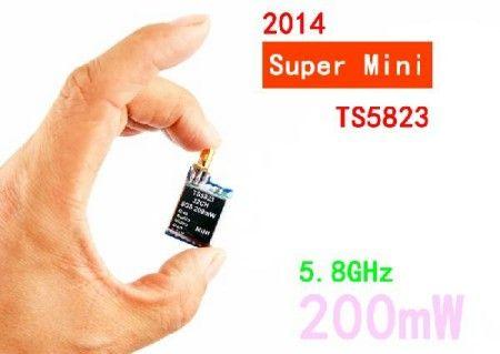 Super Mini 7.3g 5.8G 32Ch 200mW A/V Transmitter Module (TX) TS58