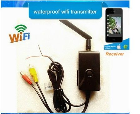 WIFI transmitter 2.4G wireless for analog Camera IOS, Android