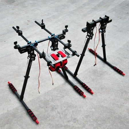 Retractable Landing Gear Skid for 20mm Arm CF tube