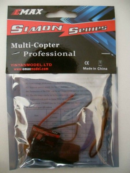 EMAX Simon Series Brushless Speed controller 12A ESC 1-3S Lipo