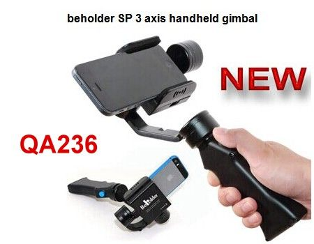 Smart Phone IPhone, Galaxy S, SP 3 axis handheld gimbal Beholder