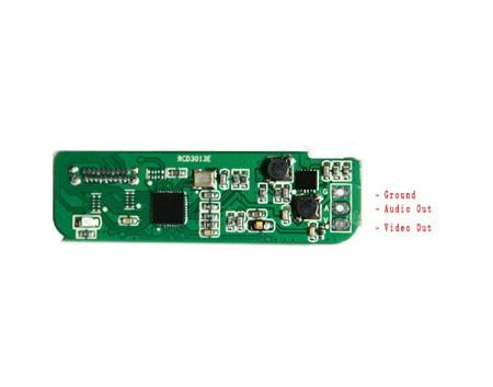 Mini HDMI to A/V Conversion With Remote Control Infrared